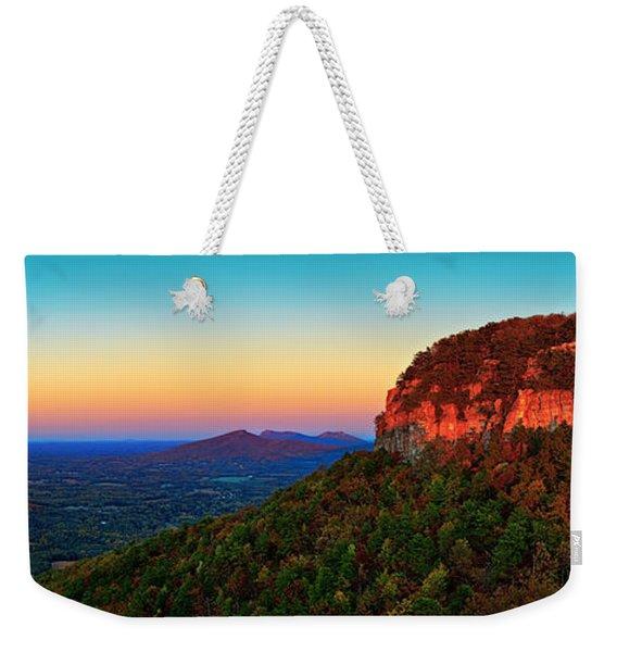 Pilot Mountain  Weekender Tote Bag