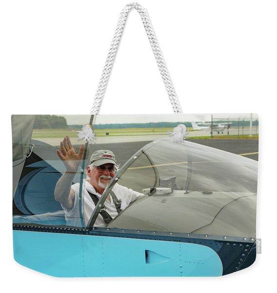 Pilot Vic Vicari Weekender Tote Bag