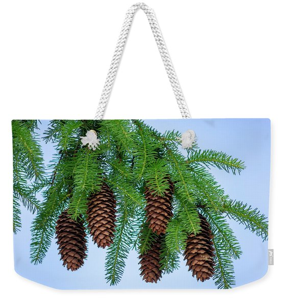 Pine Bough Weekender Tote Bag