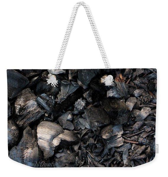 Pine Cone Cinders Weekender Tote Bag