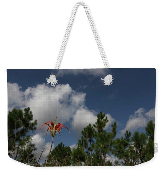 Pine Lily And Pines Weekender Tote Bag