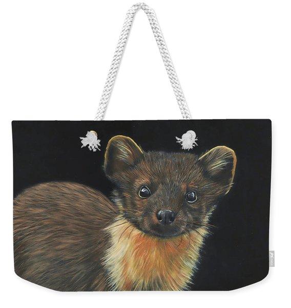Pine Marten Weekender Tote Bag