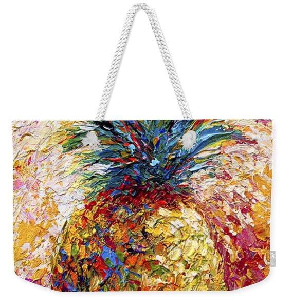 Pineapple Expression Weekender Tote Bag