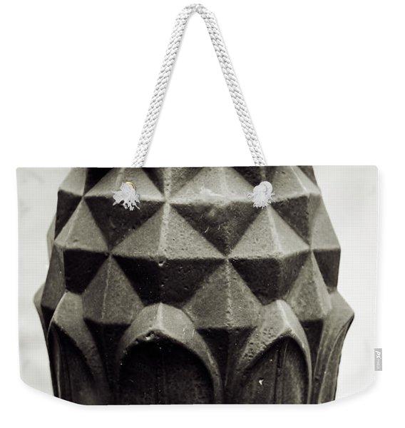 Pineapple, Oak Alley, Vacherie, Louisiana Weekender Tote Bag
