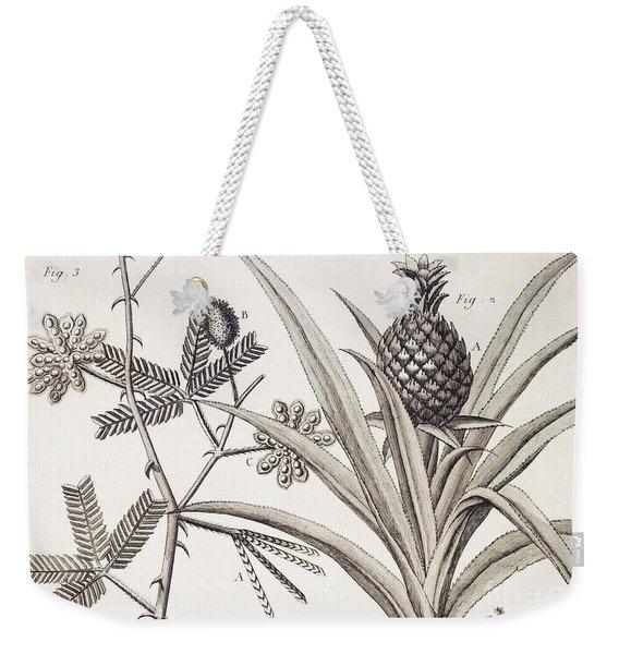 Pineapple Plant Weekender Tote Bag
