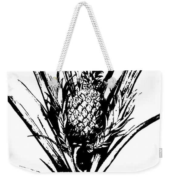 Pineapple Plant With Fruit Weekender Tote Bag