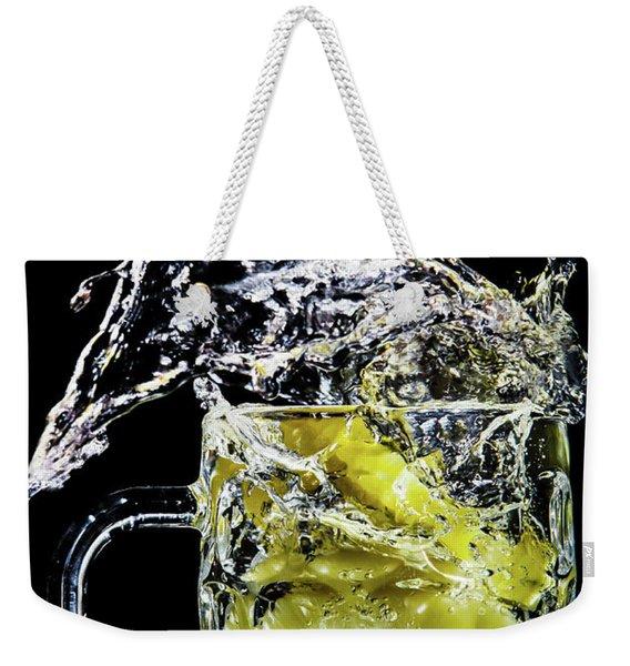Pineapple Splash Weekender Tote Bag