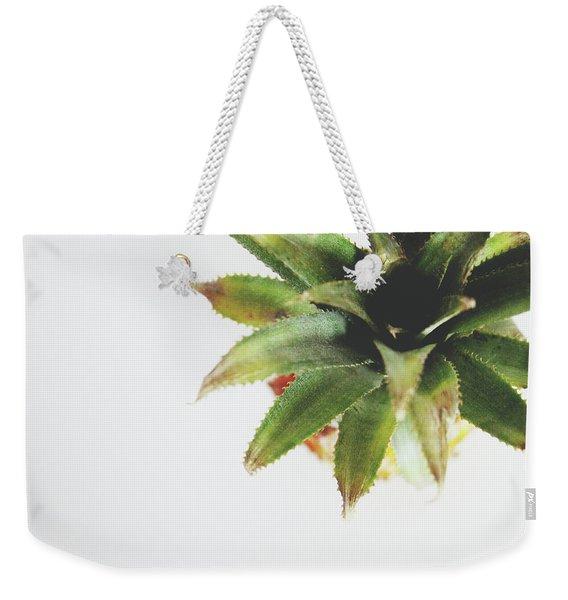 Pineapple Top 2- Art By Linda Woods Weekender Tote Bag