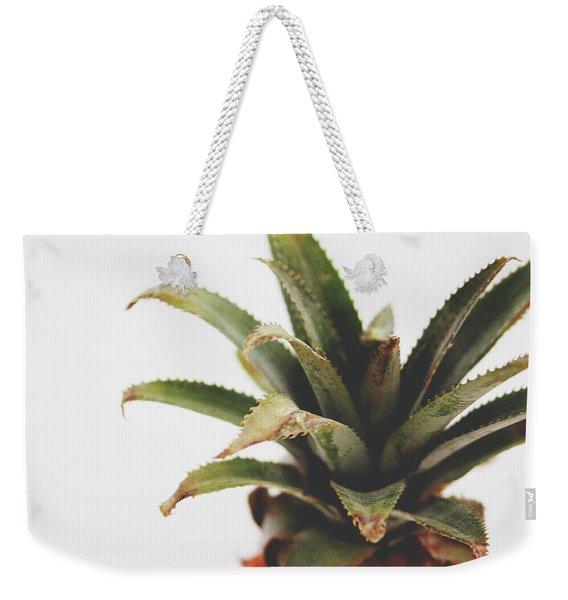 Pineapple Top- Art By Linda Woods Weekender Tote Bag
