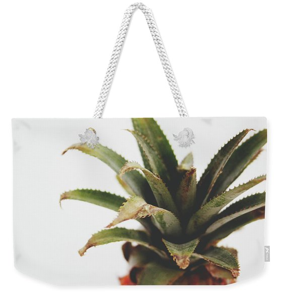 Pineapple Top- Art By Linda Woods Weekender Tote Bag