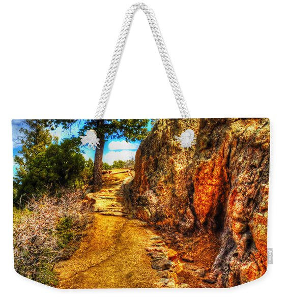 Ponderosa Pine Guarding The Trail Weekender Tote Bag