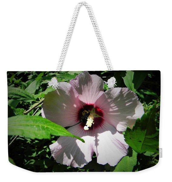 Pink Althea Weekender Tote Bag