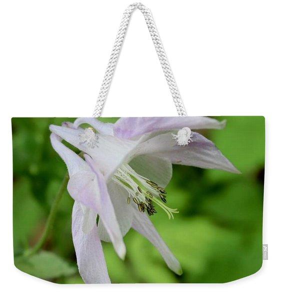 Pink Columbine Weekender Tote Bag