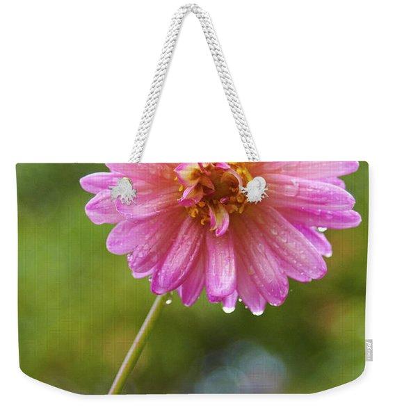 Pink Dahlia 2 Weekender Tote Bag