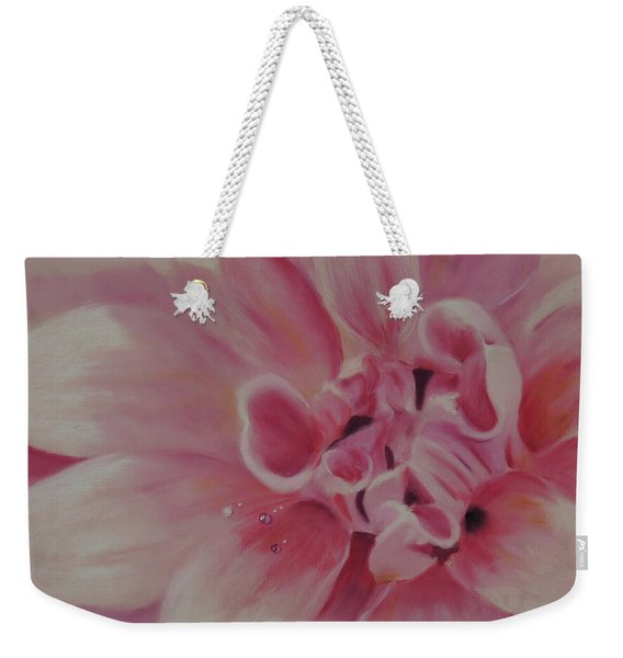 Pink Dahlia II Weekender Tote Bag