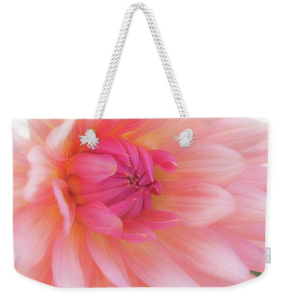 Pink Delight Weekender Tote Bag