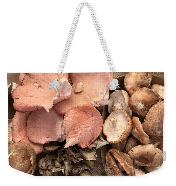 Pink Elephant Ears Weekender Tote Bag