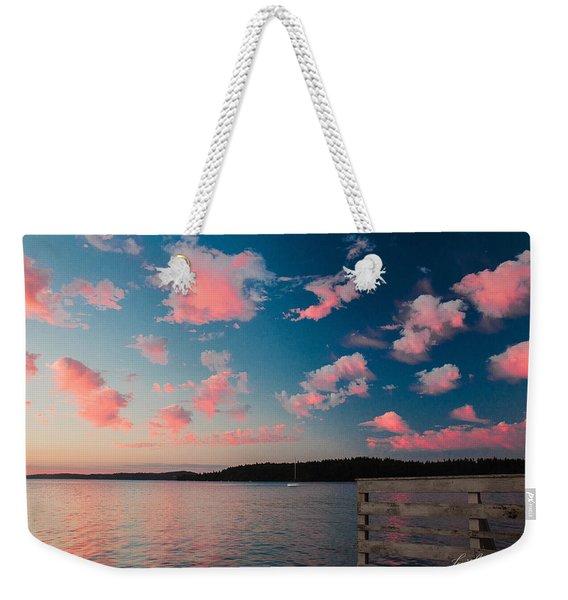 Pink Fluff In The Air Weekender Tote Bag