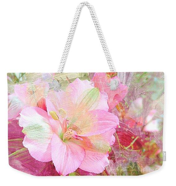 Pink Heaven Weekender Tote Bag