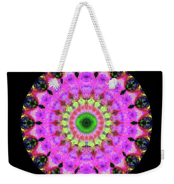Pink Love Mandala Art By Sharon Cummings Weekender Tote Bag