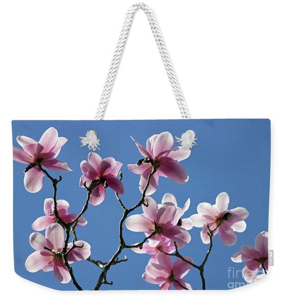 Pink Magnolias  Weekender Tote Bag