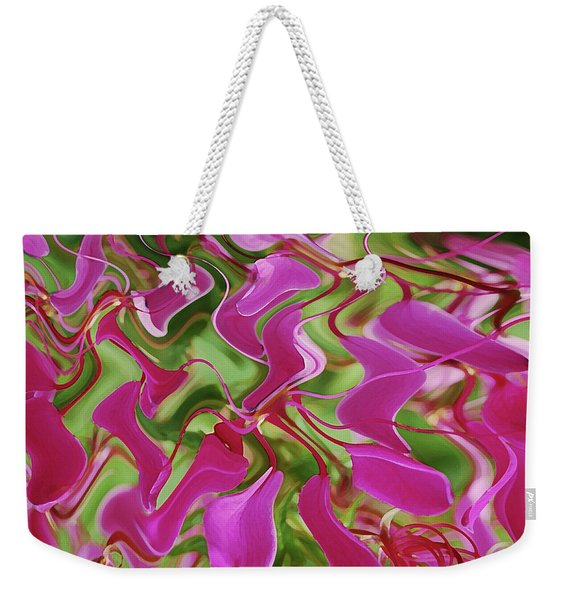 Pink Party Weekender Tote Bag