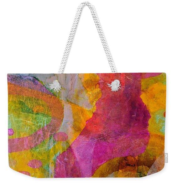 Pink Passion Weekender Tote Bag