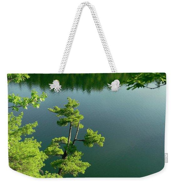 Pink Pine Weekender Tote Bag