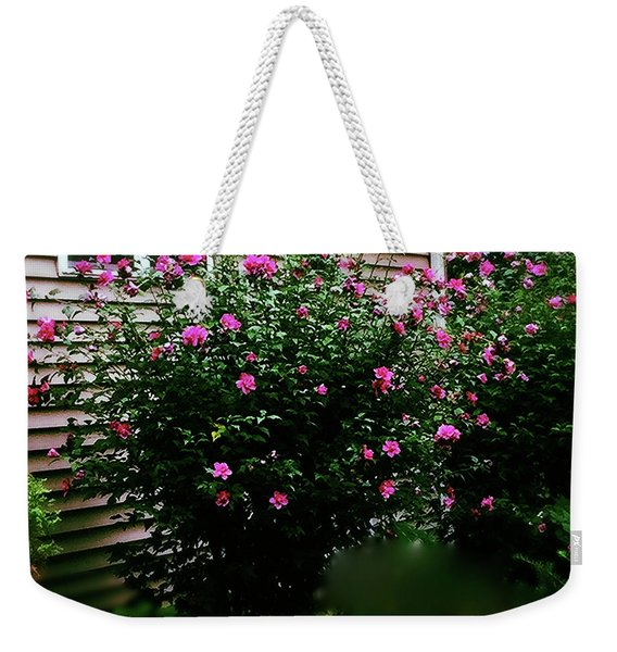Pink Pizzazz Weekender Tote Bag