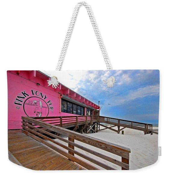 Pink Pony Weekender Tote Bag