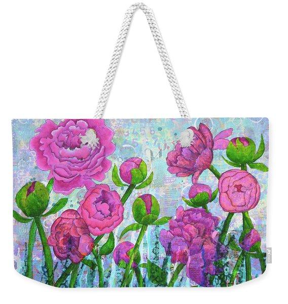 Pink Punch Weekender Tote Bag