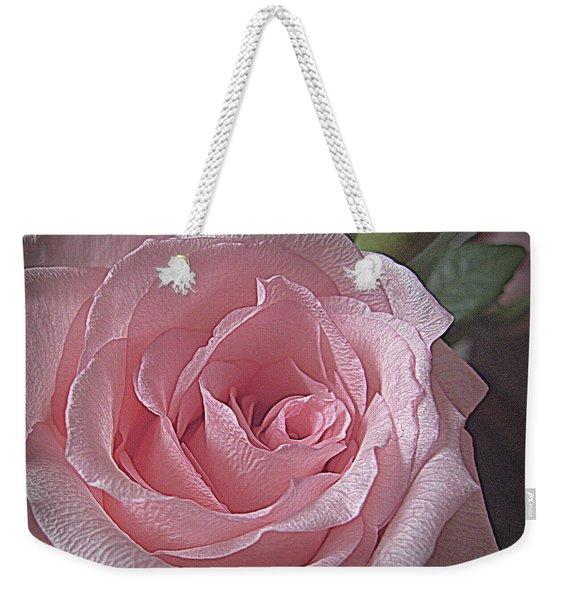 Pink Rose Bliss Weekender Tote Bag