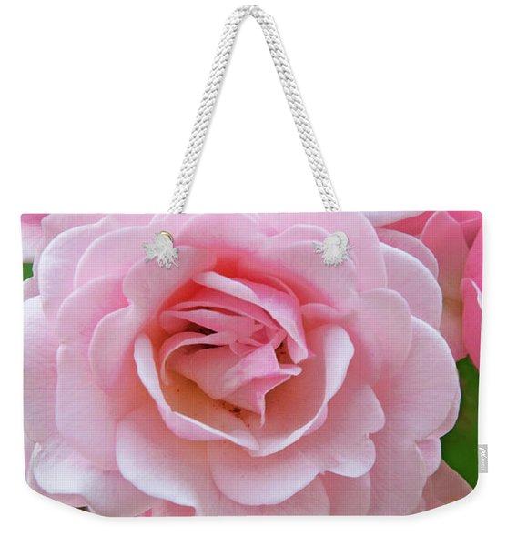 Pink Rose Cluster IIi Weekender Tote Bag