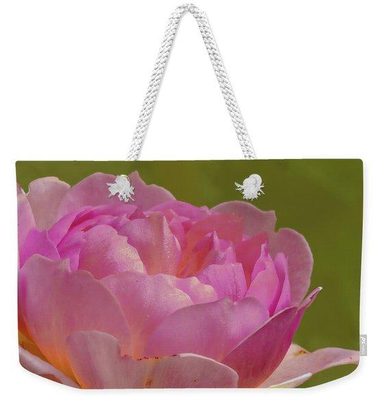 Pink Rose #d3 Weekender Tote Bag