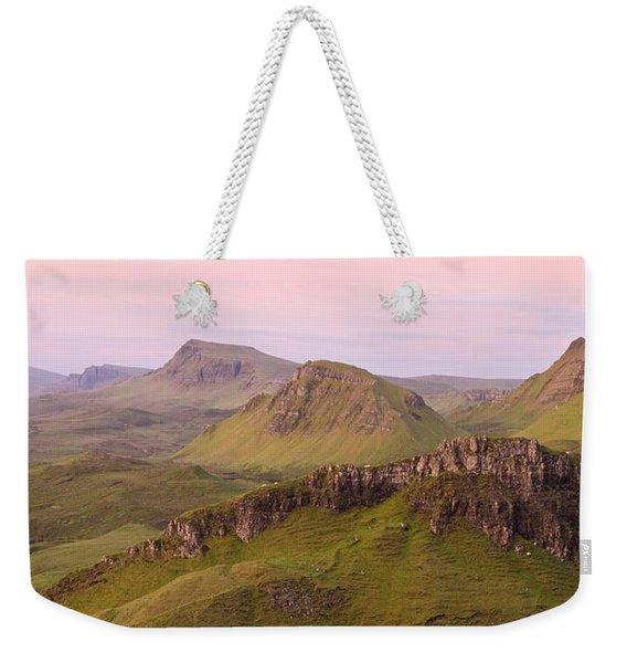 Pink Skye  Weekender Tote Bag