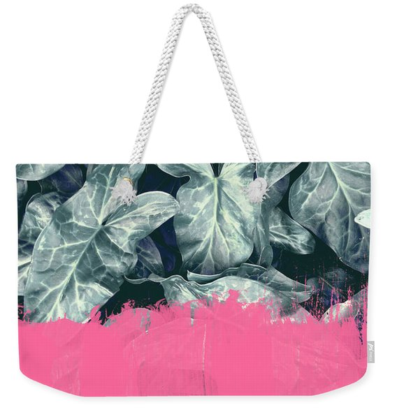 Pink Sorbet On Jungle Weekender Tote Bag