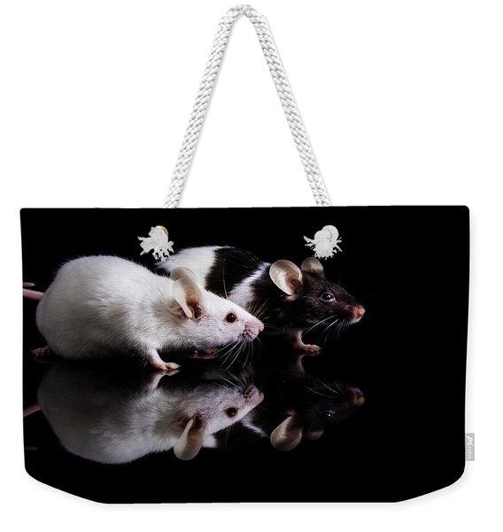 Pinky And Dot Weekender Tote Bag