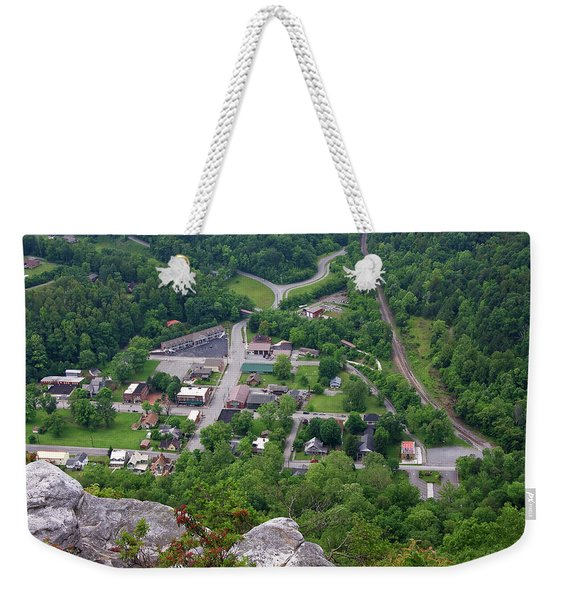 Pinnacle Overlook In Kentucky Weekender Tote Bag