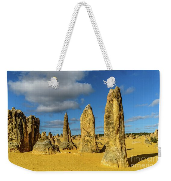 Pinnacles 6 Weekender Tote Bag