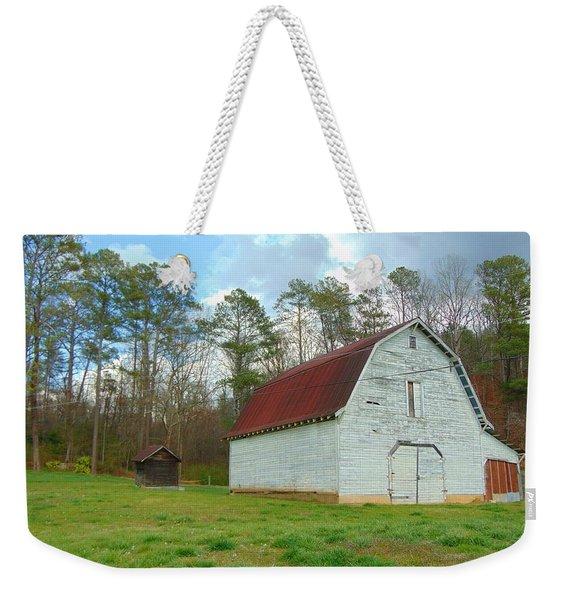 Pinson Farm Barn Weekender Tote Bag