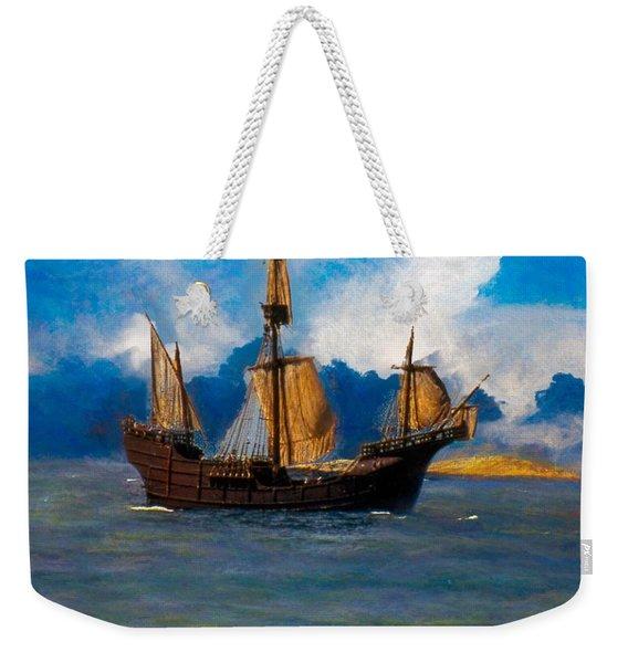 Pinta Replica Weekender Tote Bag