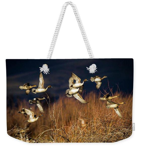 Pintails And Wigeons Weekender Tote Bag
