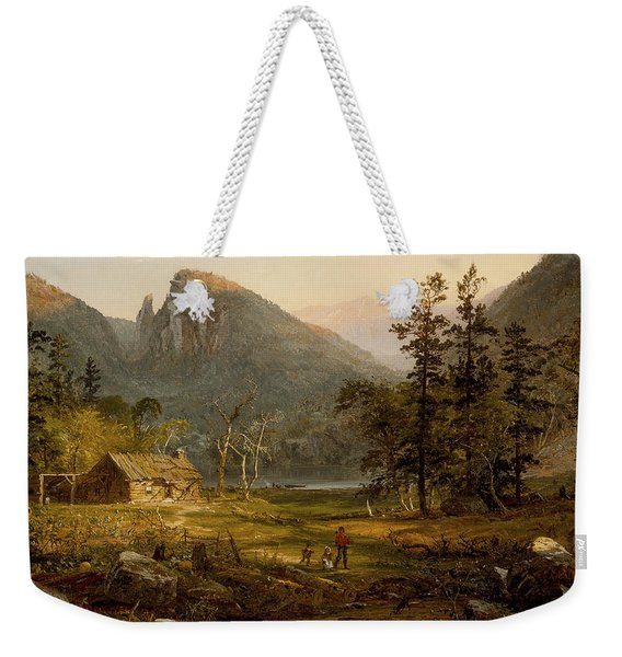 Pioneer's Home Eagle Cliff  White Mountains Weekender Tote Bag