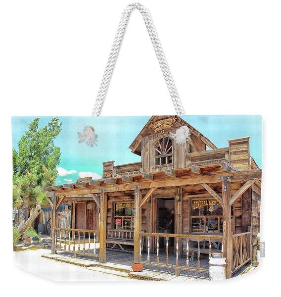 Pioneertown, Usa Weekender Tote Bag
