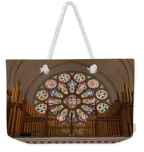 Pipe Organ - Church Weekender Tote Bag