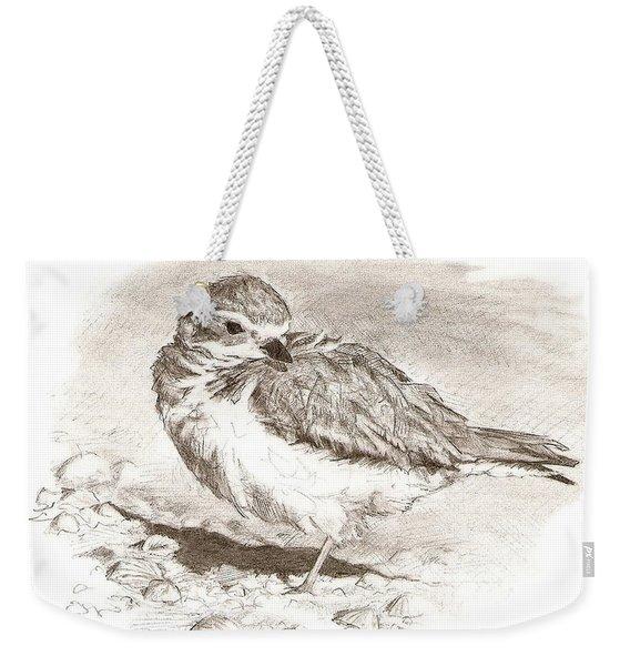 Piping Plover Weekender Tote Bag