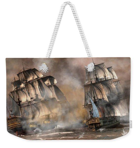 Pirate Battle Weekender Tote Bag