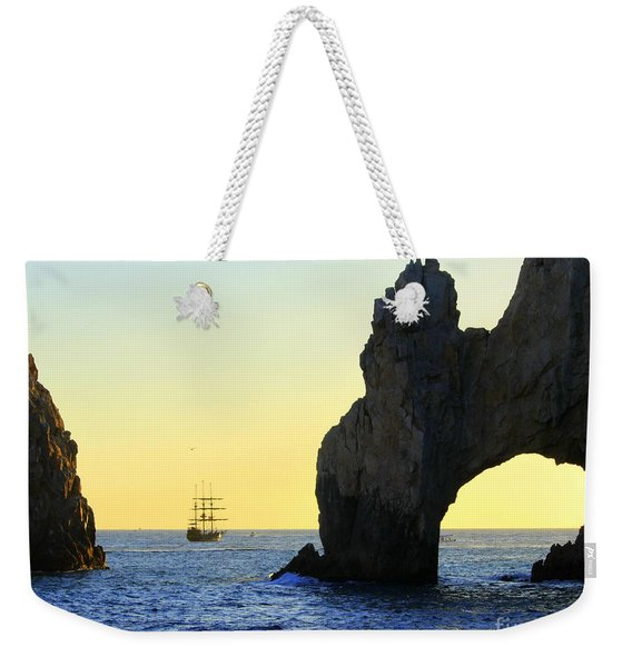 Pirate Ship El Arch Arch Cabo San Lucas Weekender Tote Bag