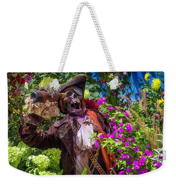 Pirate Skeleton Drinking Weekender Tote Bag