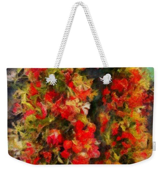 Pi's Flowers 2 Weekender Tote Bag